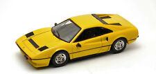 Ferrari 208 Gtb Turbo 1982 Yellow 1:43 Model BEST MODELS