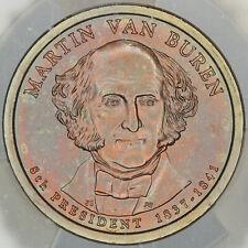 2008-P PRESIDENTIAL DOLLAR MARTIN VAN BUREN ICG SP69 SATIN FIRST DAY ISSUE (DR)
