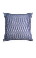 Wander Home Avanna Mini Vines Square Throw Pillow in Navy