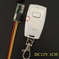 DC12V 1CH Relay Remote Switch 2A Contact wireless remote control