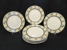 """Set of 8 PTS International Coventry WINSLOW MANOR 11"""" Dinner Plates, Indonesia"""