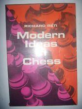 CHESS ECHECS: Réti: Modern Ideas in Chess, 1960, BE