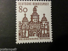 ALLEMAGNE FEDERALE, RFA 1964 GERMANY, TP 328, EDIFICES HISTORIQUES, neuf** MNH