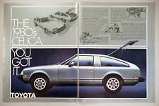Toyota Celica 2-Page PRINT AD - 1978
