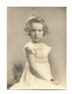 6 x 4 original Marcus Adams Photo Sarah daughter of Lady Dashwood