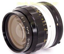 NIKKOR-0 Auto 1:2 f=35mm FAST WIDE-Angle Nikon Ai Lens for analog & DIGITAL SLRs