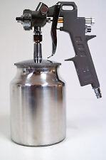 PROFI Lackierpistole 1,5 mm Metallbecher Düse Spritzpistole Sprühpistole Becher