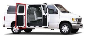 1975-1991 Ford Econoline E-100 E-150 E-250 E-350 van rear side cargo door seal