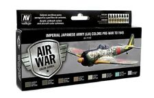 Vallejo Model Air 71152 WWII Imperial Japanese Army Colours - 8x17ml Paint Set