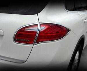 Porsche Cayenne 2011 2012 2013 2014 Taillight Chrome Trim Set (2 pcs)