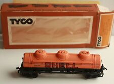 TYCO HO Scale SHELL Oil Tanker Original Box Excellent