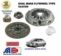 FOR TOYOTA AVENSIS 2.0DT D4D CDT250 1CD-FTV 2003-10/2006 NEW 3 PIECE CLUTCH KIT