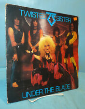 Twisted Sister~Under The Blade~1982 Secret Records Vinyl LP~SECX 9~Orig.Issue