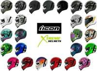 ICON Airform Helmet Inner Sun Shield HydraDry Removable Liner DOT ECE XS-3XL
