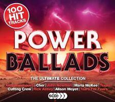 POWER BALLADS (KISS, SIMPLE MINDS, HOOBASTANK, AMY WINEHOUSE, ...) 5 CD NEW!