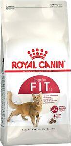 Royal Canin FHN Fit 32 2 kg Crocchette croccantini gatto completo equilibrato
