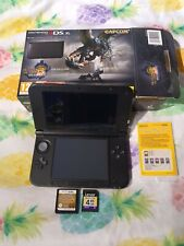 Nintendo 3DS XL Console Limited Edition Monster Hunter Pokemon Heartgold SD Card