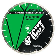 Asphalt PRO diamond blade 10mm high standard drop segment & undercut protection