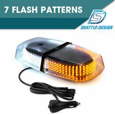 240 LED Amber/White Roof Top Bar Enforcement Emergency Flashing Strobe Light 15W