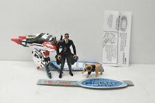Men In Black Ii Agent Jay anti gravity action figure + Pug Dog Hasbro complete