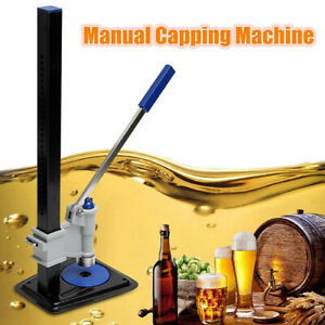 Manual Glass Bottle Capper Capping Sealing Machine Homebrew Beer Drink SealerNew