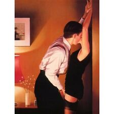 Jack Vettriano greeting card - Game On