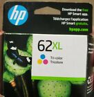 Genuine HP 62XL Tri-Color Ink Cartridge C2P07AN - 2023 - SEALED