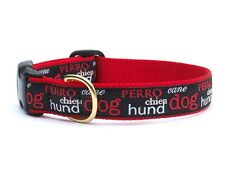 Up Country - Dog Puppy Design Collar - Made In USA - Dogs - XS S M L XL XXL