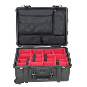 """lid organizer 15"""" laptops computer Fits Pelican 1560 (No Case,padded )"""
