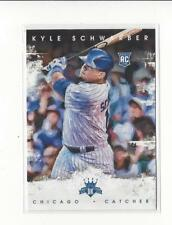 2016 Diamond Kings #141B Kyle Schwarber RC Rookie Cubs (VAR)