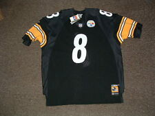 TOMMY MADDOX #8 PITTSBURGH STEELERS HOME AUTHENTIC FOOTBALL JERSEY sz 54 NWT