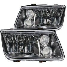 Anzo Crystal Headlights Black w/ Fog Lights for 99-05 Volkswagen Jetta / 121169