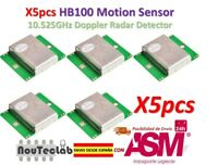 5pcs HB100 Microwave Motion Sensor 10.525GHz Doppler Radar Detector