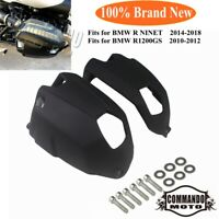 New Engine Cylinder Head Protector Guard Black Cover For BMW R1200GS R Nine T