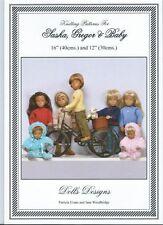 Sasha Doll Knitting Pattern Book