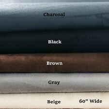 """Automotive Suede Headliner Fabric 1/8"""" Foam Back Droop Upholstery Sold By Yard"""