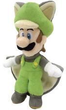 """New Little Buddy Super Mario 1312 Flying Squirrel Luigi 9"""" Stuffed Plush Doll"""