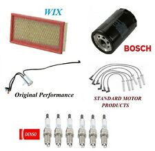 Tune Up Kit Filters Wire Spark Plugs For DODGE GRAND CARAVAN V6 3.3L; 3.8L 96-99