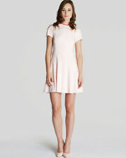 TED BAKER LONDON VAL SIDE PANEL JERSEY DRESS PINK Sz 2 ~ US 6 $195 FREE S&H US