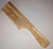 Wooden Wood Wide Tooth Massage Hair Comb Antistatic Made in Poland Fast Delivery
