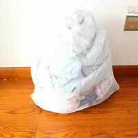 Househeld Washing Machine Mesh Net Drawstring Laundry Thickened Wash Bag 3 Size