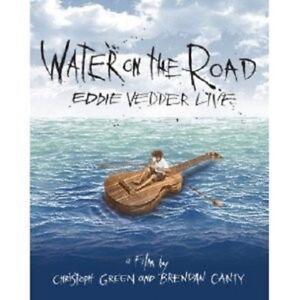"EDDIE VEDER ""WATER ON THE ROAD"" BLU RAY NEW!"
