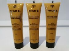 Philip B Forever Shine Conditioner with mega bounce all hair types 15ml x 3