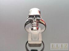925 Sterling Silve Alien Skull Ring 9' 9.5' 10'