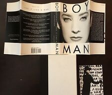 TAKE IT LIKE A MAN SIGNED BY BOY GEORGE 1ST PRINT 1ST ISSUE HARDCOVER