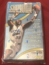 ⚡️Topps 1997–98 Stadium Club Series 1 Basketball Card Sealed Box Tim Duncan RC⚡️