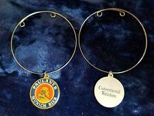 "Paulaner Munich Bier BEER Bottle medallion Charm Bracelet ""Conventional Weizdom"""
