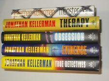 Jonathan Kellerman 5 Book Lot True Detective Obsession Evidence Therapy Monster