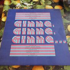 DDR- AMIGA +  Gimme Gimme Gimme... Sampler   + Schallplatte Vinyl LP