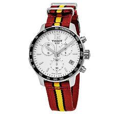 Tissot Men's T095.417.17.037.08 'Quickster' Silver Dial NBA Swiss Watch